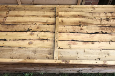 HEAVY DUTY LAP FENCE PANELS 6' x 3'