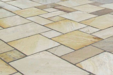 Patio Paving: Fossil Mint